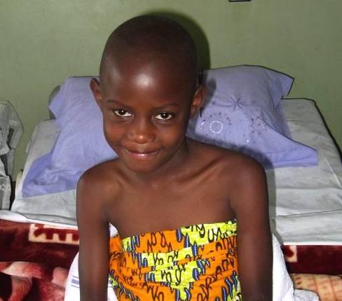 Ugandian boy