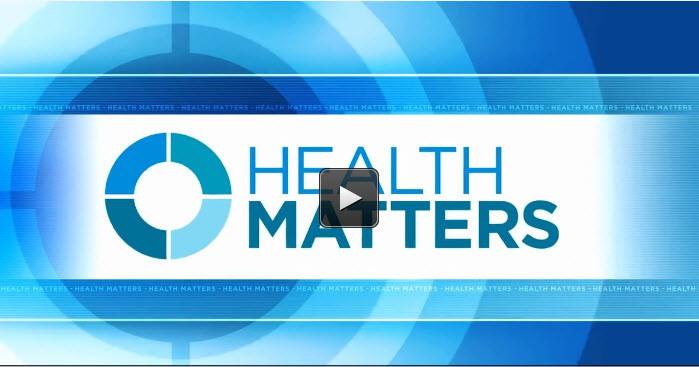 Health Matters with Dr. Aubyn Marath