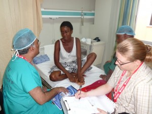 Uday and patient pre-op